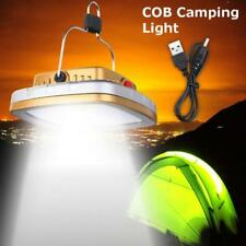 Solar Rechargeable LED Lantern Outdoor Garden Night Camping Tent Light Lamp