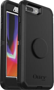OtterBox Otter + Pop Defender Series Case for iPhone 8 Plus/7 Plus Black