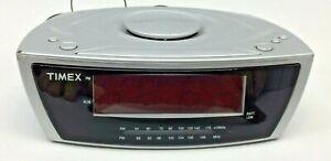 Timex Dual Alarm Clock Radio Multi Directional Sound Chamber