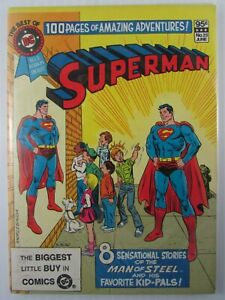 1982 SUPERMAN  Best of DC #25  Blue Ribbon Digest 8.5 VF+