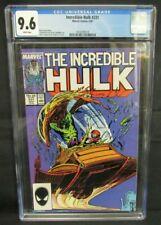 Incredible Hulk #331 (1987) McFarlane Art Copper Age CGC 9.6 Z176