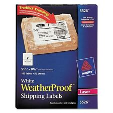 Avery Weatherproof Mailing Labels - 5526