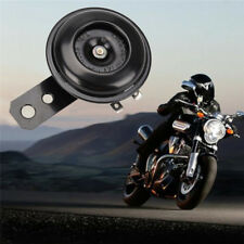 Universal Motorcycle Electric Horn kit 12V 1.5A 105db Waterproof Round Loud Horn
