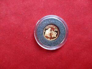 Mexiko 1/20 Onza de Oro Puro von 1999 Teocuitlatl 999 Gold Au PP proof
