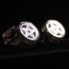 PAWSTAR LED Goggles - Light Up White Star Pentagram pentacle Cyber [WH/PENT]5416