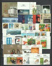 Iceland 2000 - 2010 Page of MNH Sets, Part Set CV $97.54