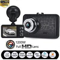 1080P HD Car Dash Cam G-sensor IR Night Vision Vehicle DVR Video Camera Recorder