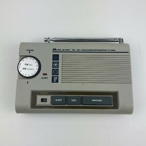 Midland Weather Radio Weather Max 74-105XL Emergency Alert TESTED And Working