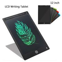 12 inch Electronic Digital LCD Writing Pad Tablet Drawing Graphics Board Notepad