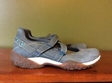 Timberland Smart Comfort System Shoes Blue Suede Leather Sneakers Woman Size 6M