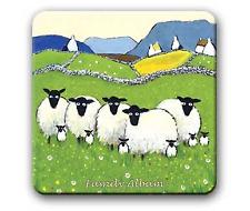 Thomas JosephQuirky Coaster Family Album Scottish Sheep Farm Funny Pun Design