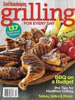 Grilling Magazine Budget BBQ Chicken Seafood Pork Healthy Eating Salads Sides