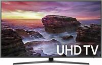 """Samsung UN58MU6070F Flat 58"""" LED 4K UHD 6 Series SmartTV 2017 UN58MU6070 NETFLIX"""