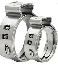 38 Stainless Steel Pex Cinch Crimp Ring Lot Of 25 Pieces Fast Free Shipping