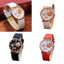 Fashion Men's Casual Digital Dial Leather Band Watch Quartz Analog Wrist Watches