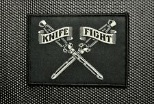 Knife Fight Woven Morale Patch Switchblade Hydro74 Rebel Without A Cause