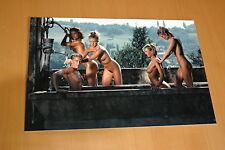 JEAN-PIERRE BOURGEOIS NU NUDE PARTIE DE PECHE 1989 PHOTO ORIGINAL SIGNEE 3/7