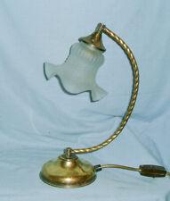 VINTAGE, 1950s ITALIAN BRASS LAMP - Rewired
