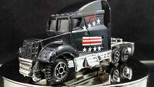 Motor Max USA American Flag Black Truck