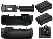 Vertical Power Battery Grip Holder MB-D15 for Nikon D7100D7200  Camera+2X1600mah
