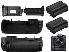 NEW Battey Grip Holder For Nikon D7100 DSLR Camera+ 2x EN-EL15 as MB-D15 MBD15