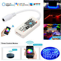 Magic Home WiFi RGB LED Streifen Controller 5V 12V 24V IOS Android Echo Alexa