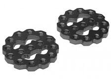Boom Racing Rugged Gear Aluminum Universal Shock Ring Hoops BRQ90305BK