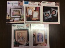 CROSS STITCH GRAPHS  5  ASSORTED DESIGNS Number 1
