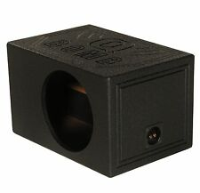 "Q-POWER QBOMB12VL Single 12"" Vented Ported Car Subwoofer Sub Box Enclosure QBOMB"