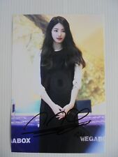 Suzy Bae Miss A 4x6 Photo Korean Actress KPOP autograph signed USA Seller 29