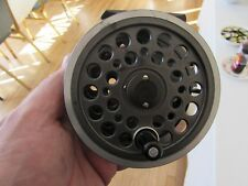 V good vintage youngs daiwa 812 1500 expert series salmon fly fishing reel 4.25""