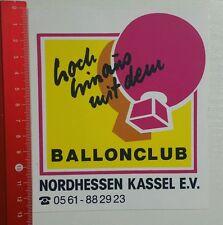 Aufkleber/Sticker: Ballonclub Nordhessen - Kassel e.V. (30041672)