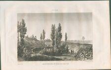 SIRACUSA. Sicilia. Anfiteatro e visita della città.  Da Italie Pittoresque, 1836