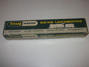 Wrenn Triang City of London B.R 2 rail locomotive box only W2226