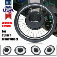 Electric Bicycle Motor Conversion Kit Set Bike For 26 Inch Front Wheel 36V *Plus