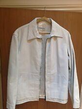 White Giorgio Armani 100% Leather Jacket