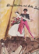 Alicia Markova & Anton Dolin and Ballet Company  Souvenir Program 1947  US TOUR