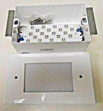 Kenall LED Step Light MSL-L-0-GW-PP-WHL-120-2 Medmaster Softstep Step Light New.