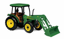 JOHN DEERE 5420 WF TRACTOR WITH FRONT END LOADER CAB DETAILED 1:16 SCALE TOY