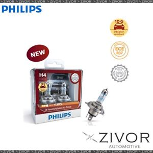 Philips Globe H4 12V Twin Pack Xtreme Vision G-Force (12342Xvgs2)