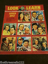 LOOK and LEARN # 234 - COVER QUIZ - JULY 9 1966