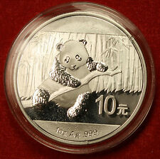 2014 CHINESE PANDA DESIGN 1 OZ .999% SILVER ROUND BULLION COLLECTOR COIN GIFT