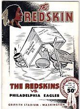 Adrian Burke NFL record 7 TDS 1954 Eagles v Redskins