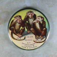 Vintage  Advertising Sign Fridge Magnet 2 1/4