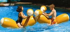 Pool Joust Set FLOAT Game Inflatable Swim Gladiator PARTY Duel BATTLE LOGS 9084