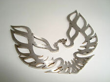 ~SUPER NEW & METAL~> FIREBIRD TRANS AM FENDER EMBLEM Formula Pontiac Stainless
