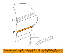 TOYOTA OEM 2000 Avalon REAR DOOR-Body Side Molding Right 75741AC020E1