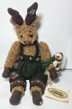 "Vintage Ganz Cottage Collectibles 10"" Plush Stuffed Animal Rudolph Authentic"