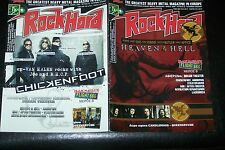 ROCK HARD MAGAZINE 5/2009 HEAVEN & HELL (IOMMI DIO) CHICKENFOOT  + POSTER
