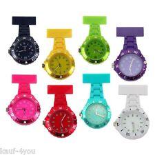 Pflege Ansteckuhr Krankenschwester Uhr Plastik Schwesternuhr Taschenuhr